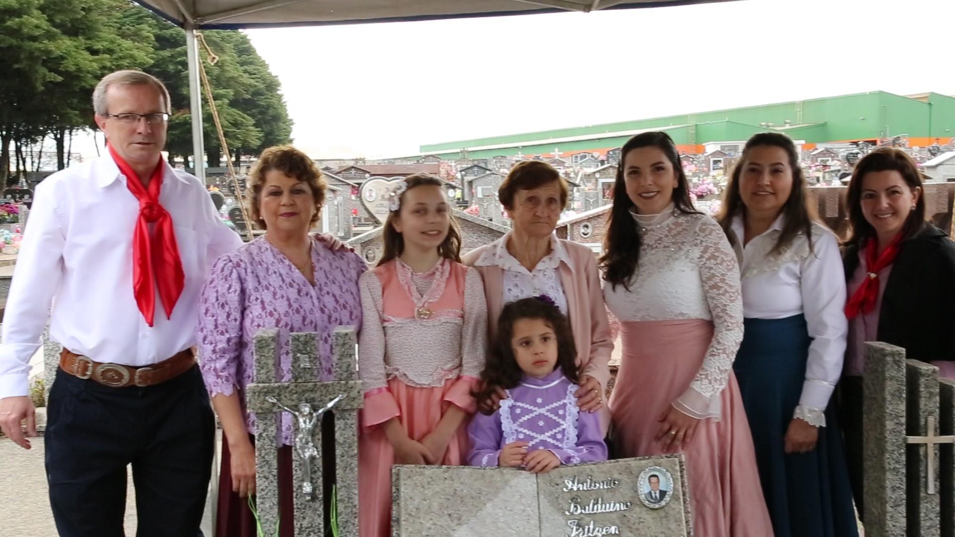 Homenagem ao Patrono dos Festejos Farroupilhas de Não-Me-Toque, Antônio Baldoino Fritzen
