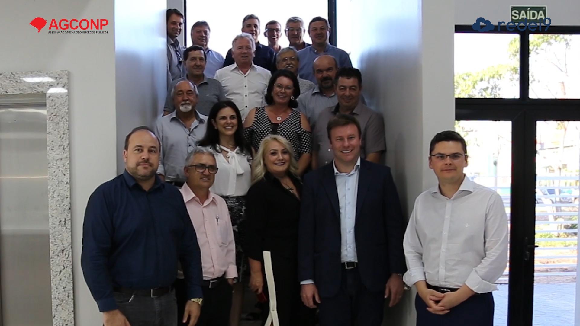 Reunião da AGCONP – Santa Cruz do Sul/RS