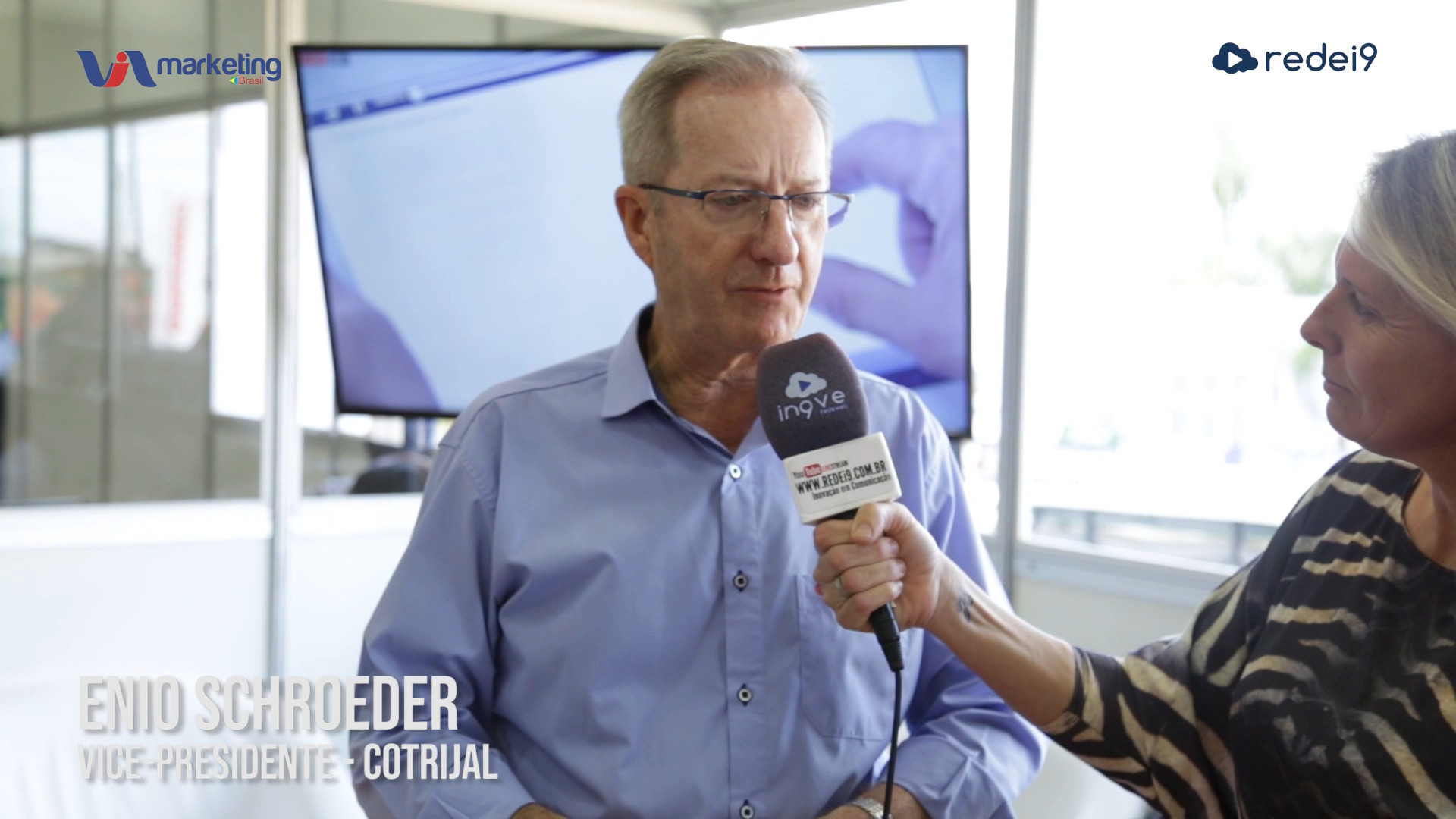 Enio Schoeder – Vice-presidente da Cotrijal na Expodireto 2020