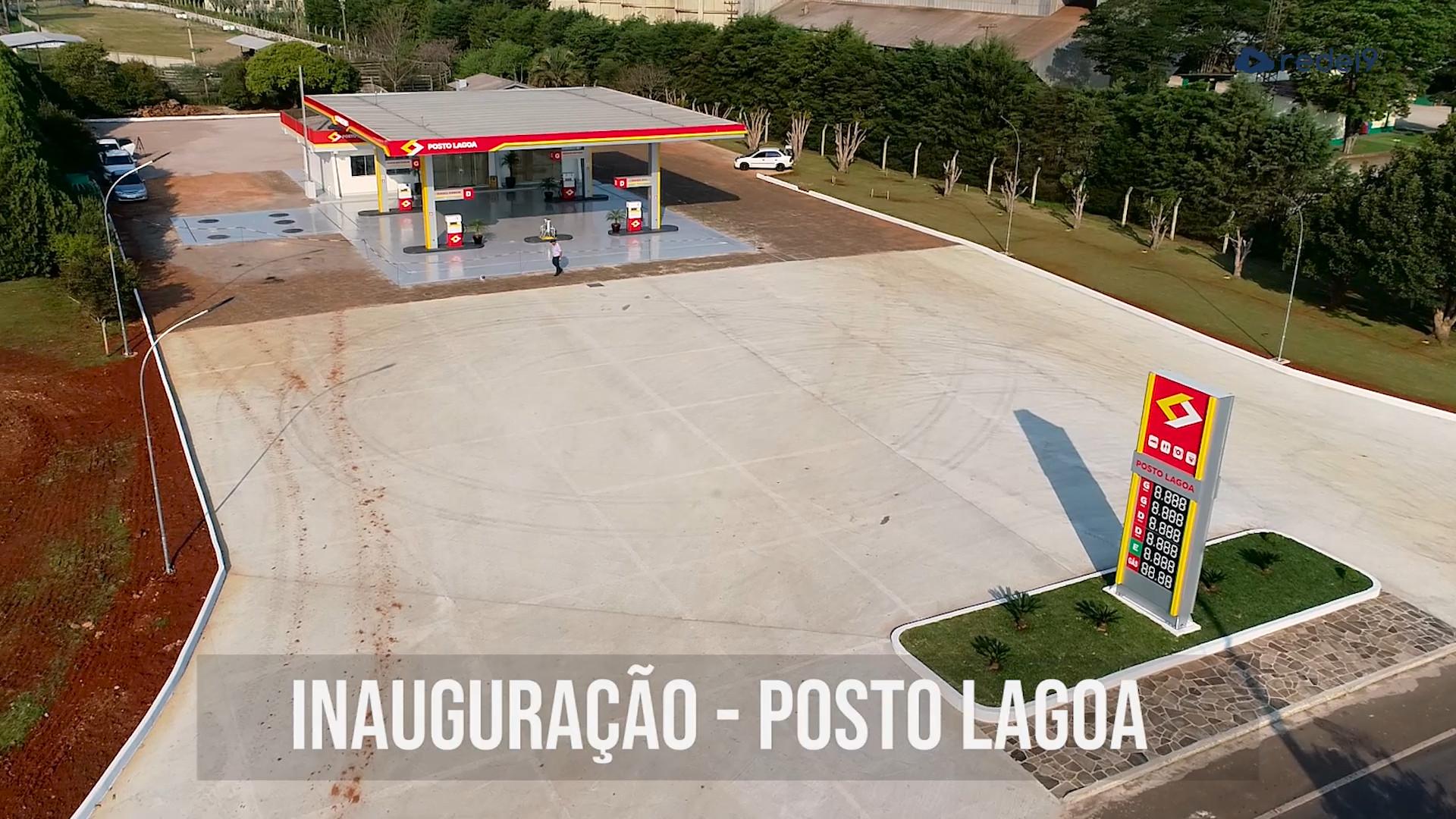 Inauguração do Posto Lagoa