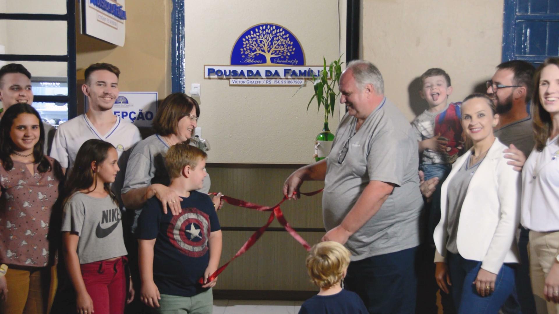 Inauguração da Pousada da Família em Victor Graeff