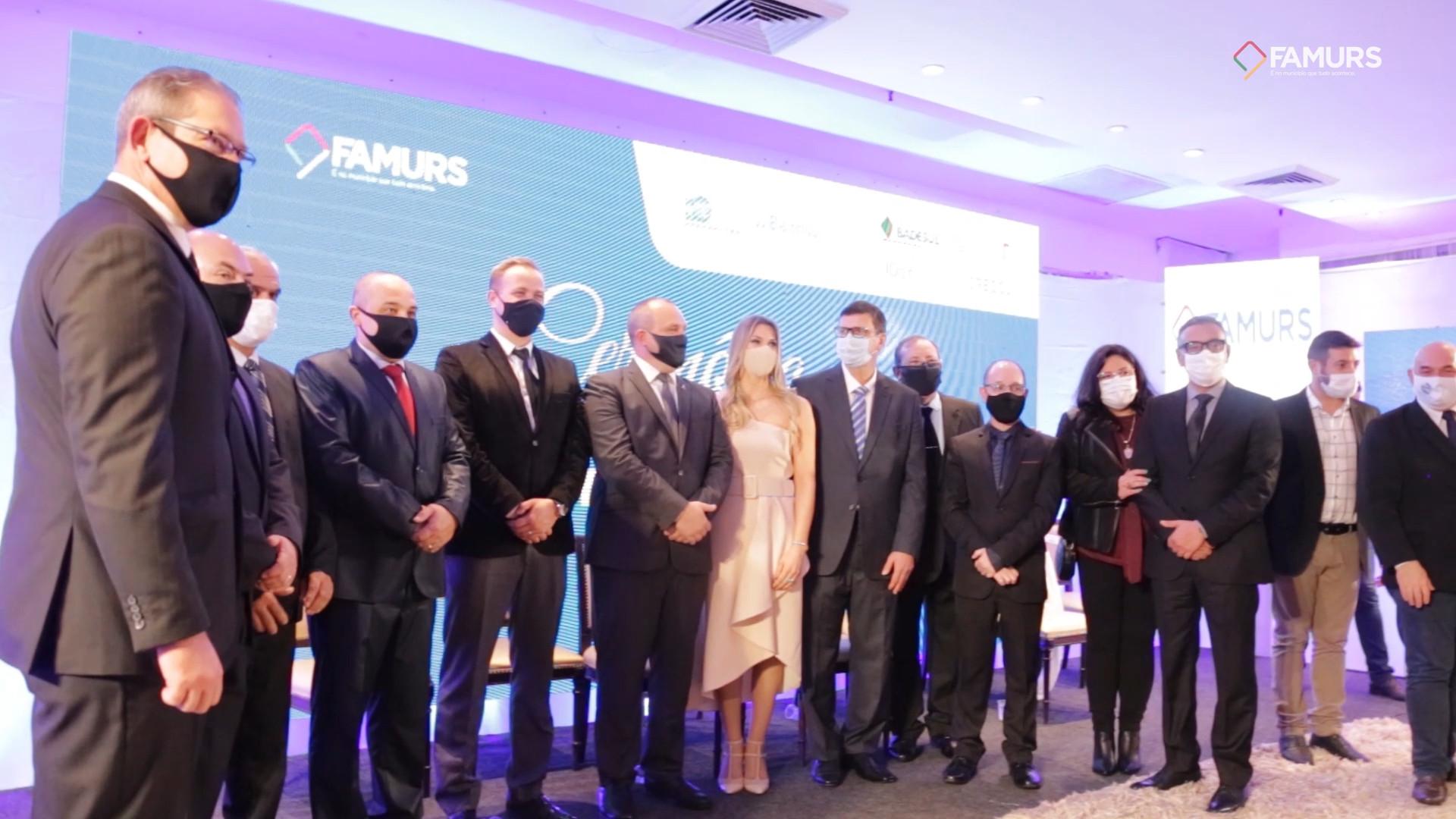 Cerimônia de Posse do Conselho de Administração da FAMURS 2021/22
